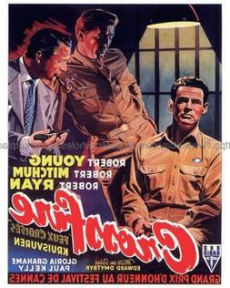 "1947 Crossfire movie poster 8x10"" print home decor kitchen"