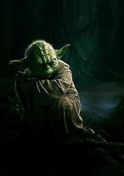 272492 Yoda Star Wars Vintage Movie WALL PRINT POSTER CA