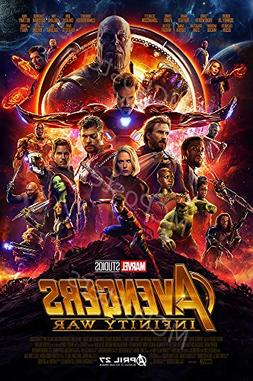 MCPosters - Marvel Avengers Infinity War 2018 Movie Poster G