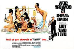 Posters USA - 007 You Only Live Twice James Bond Movie Poste