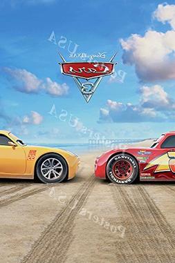 Posters USA - Disney Pixar Cars 3 GLOSSY FINISH Movie Poster