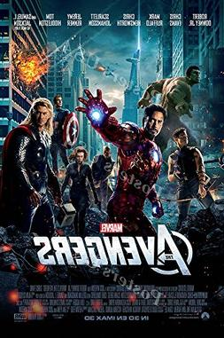 Posters USA Marvel Avengers Movie Poster GLOSSY FINISH - FIL