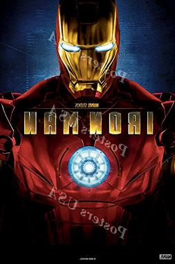 Posters USA Marvel Iron Man Original Movie Poster GLOSSY FIN