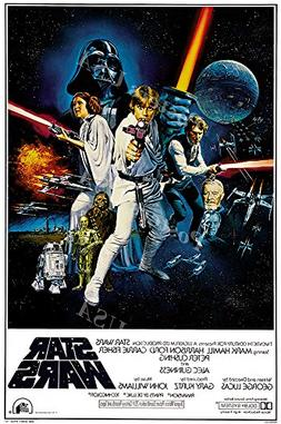 Star Wars A New Hope Movie Poster Movie Poster