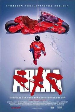 AKIRA MOVIE POSTER, US Version, size 24x36