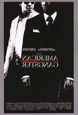AMERICAN GANGSTER MOVIE POSTER 2 Sided ORIGINAL FINAL 27x40