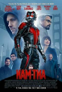 Ant-Man Movie Poster Print Wall Art 8x10 11x17 16x20 22x28 2