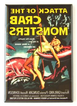 Attack of the Crab Monsters FRIDGE MAGNET movie poster