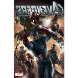 The Avengers Charging Marvel Movie Poster