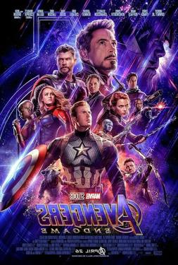 AVENGERS ENDGAME - ONE SHEET MOVIE POSTER 24x36 - 160878