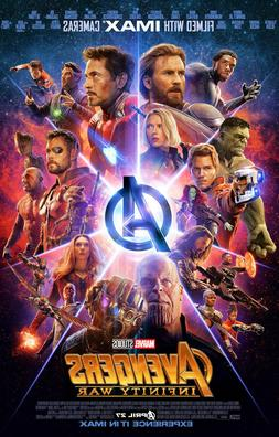 Avengers Infinity War  Movie Collector's Poster Print - B2G1