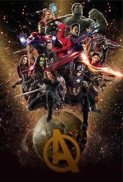 Avengers Infinity War 8x10 11x17 16x20 22x28 24x36 27x40 Mov