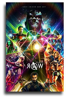 Avengers Infinity War Poster - Movie Promo 11 x 17 inches 1s