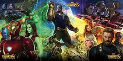 Avengers: Infinity War - 3 Piece Movie Poster/Print Set