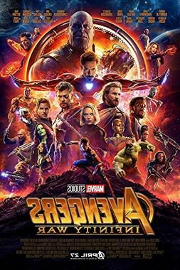 PosterOffice The Avengers Infinity War  Movie Poster - Size