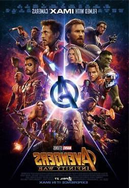 Avengers Infinity War Movie Poster 8x10 11x17 16x20 22x28 24
