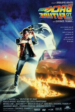 BACK TO THE FUTURE - MOVIE POSTER / PRINT