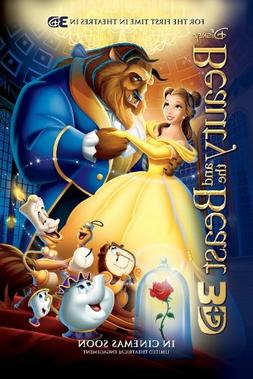BEAUTY AND THE BEAST poster : 11 x 17 inches  : great qualit
