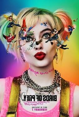 Birds of Prey - original DS movie poster 27x40 Margot Robbie
