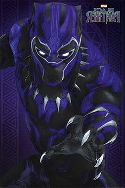 BLACK PANTHER - MARVEL MOVIE POSTER / PRINT