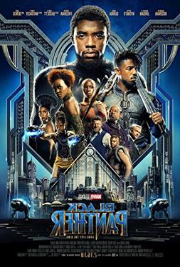 Black Panther Movie Poster Limited Print Photo Chadwick Bose