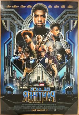 Movie Poster 27x40 Black Panther Movie Poster