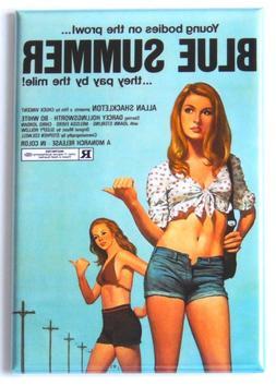 Blue Summer FRIDGE MAGNET movie poster