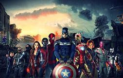 Captain America Civil War Movie Limited Print Photo Poster I