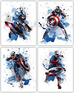 Captain America Wall Decor Collection - The First Avenger in
