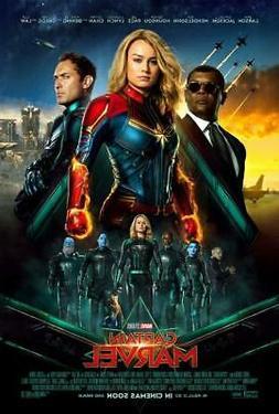 Captain Marvel Movie Poster Print Wall Art 8x10 11x17 16x20
