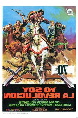 CLASSIC MEXICAN MOVIE POSTER i am the revolution gean maria