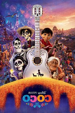 COCO - DISNEY / PIXAR MOVIE POSTER