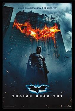 "Trends International Dark Knight One Sheet Fire, 22.375"" x 3"