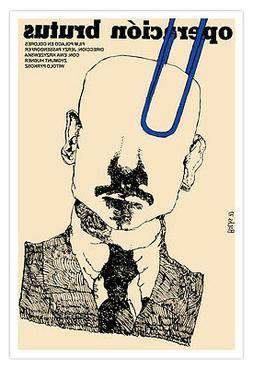 "Decor Graphic Design movie Poster 4 POLISH film""Operation Br"