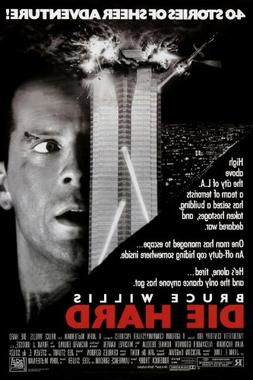 Die Hard  Movie Poster Bruce Willis 24x36