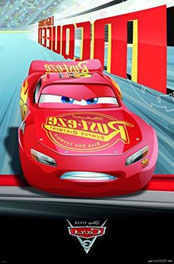 Trends International Disney Cars 3 Lightning McQueen Wall Po