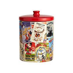 Enesco Disney Ceramics Mickey Mouse Collage Cookie Jar, 9.25