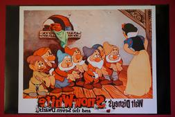 Disney Snow White and The Seven Dwarfs Queen Movie Picture P