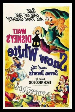DISNEY SNOW WHITE Movie Poster Photo MAGNET ~Thin flexible 4