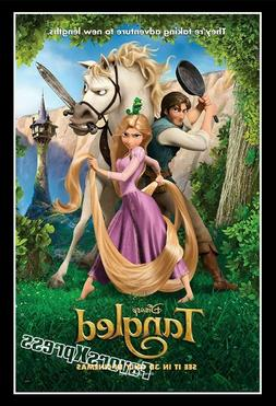DISNEY TANGLED Movie Poster Photo MAGNET ~thin, flexible 4x2