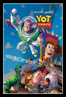 DISNEY TOY STORY Movie Poster Photo MAGNET ~thin, flexible 4