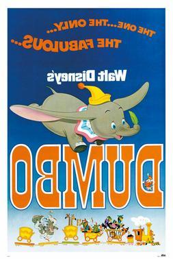 DUMBO - CLASSIC MOVIE POSTER 24x36 - DISNEY 6295