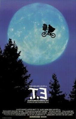 E.T Movie Poster Wall Art Photo Print 8x10 11x17 16x20 22x28