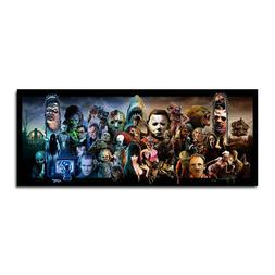 Expendables Of Horror Movie Silk Poster Art Prints 12x30 20x