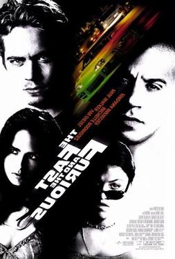 The Fast and the Furious POSTER Movie