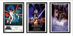 FRAMED Set Of 3 - Star Wars Original Classics Movie 24x36 Po