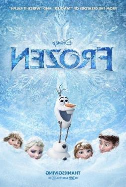 Frozen Poster 11x17 inches Kristen Bell High Quality Gloss P