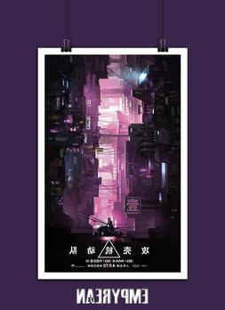 GHOST IN THE SHELL International Movie Poster Art Print