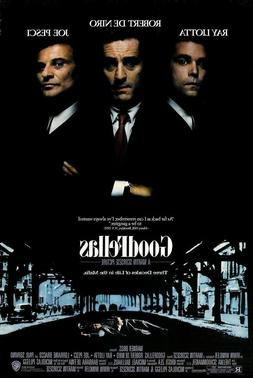 GOODFELLAS MOVIE POSTER, USA Version,