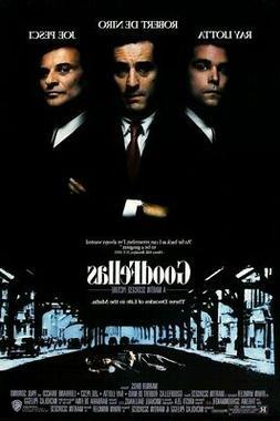 Goodfellas Movie Poster Wall Art Photo Print 8x10 11x17 16x2